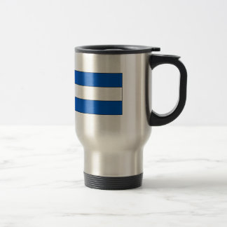 El Salvador Flag T-shirts and Gifts 15 Oz Stainless Steel Travel Mug