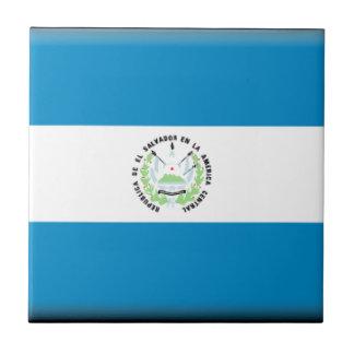 El Salvador Flag Tiles