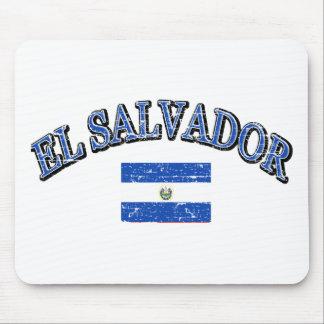 El Salvador football design Mouse Pad