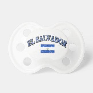 El Salvador football design Pacifier