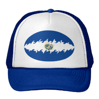 El Salvador Gnarly Flag Hat