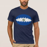 El Salvador Gnarly Flag T-Shirt