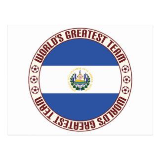 El Salvador Greatest Team Postcard