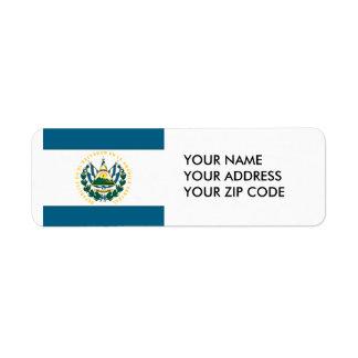 El Salvador Label