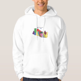 El Salvador map sweatshirt