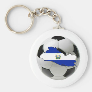El Salvador national team Basic Round Button Keychain