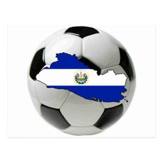El Salvador national team Postcard