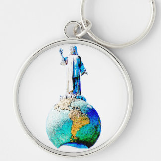 El Salvador of the world Keychain