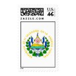 El Salvador Official Coat Of Arms Heraldry Symbol Stamps