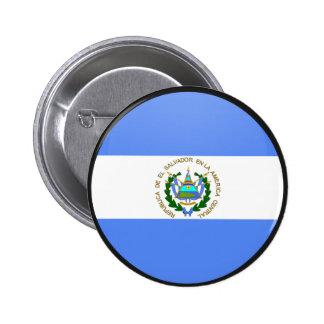 El Salvador quality Flag Circle Buttons