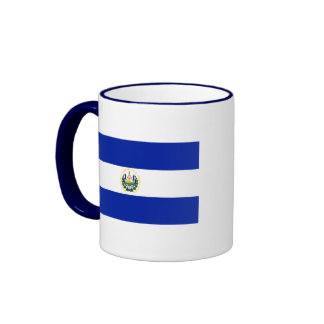 el salvador ringer coffee mug