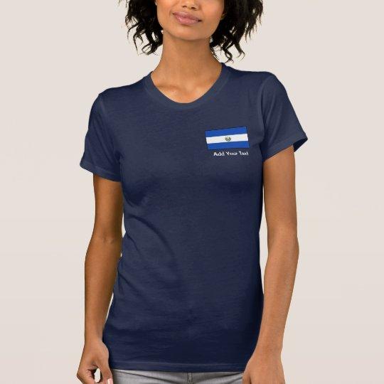 El Salvador – Salvadoran Flag T-Shirt