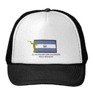 EL SALVADOR SAN SALVADOR WEST MISSION LDS CTR TRUCKER HAT