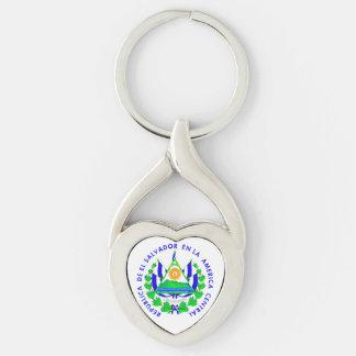 El Salvador shield Keychain