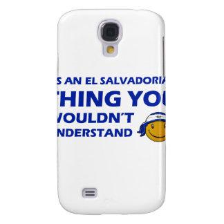 El Salvador Smiley Designs Galaxy S4 Cover