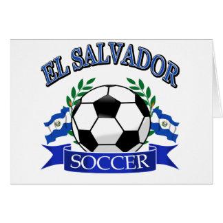 El Salvador soccer ball designs Card
