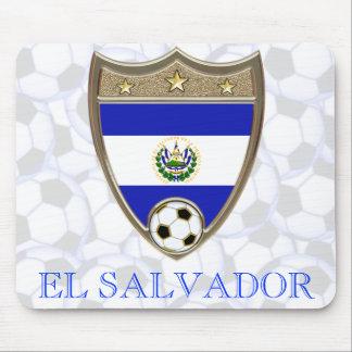 El Salvador Soccer Mouse Pad