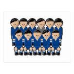 El Salvador soccer team.ai Postales