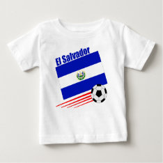 El Salvador Soccer Team Baby T-shirt at Zazzle