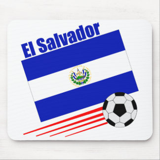 El Salvador Soccer Team Mouse Pad