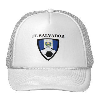El Salvador Soccer Trucker Hat