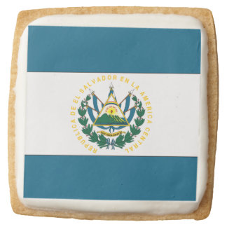 El Salvador Square Shortbread Cookie