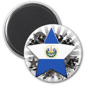 El Salvador Star Magnet