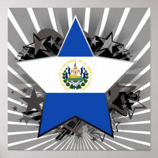 El Salvador Star Poster