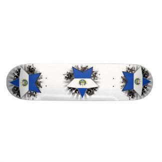 El Salvador Star Skateboard