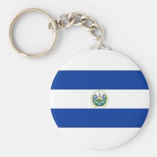 El Salvador State Flag Keychain