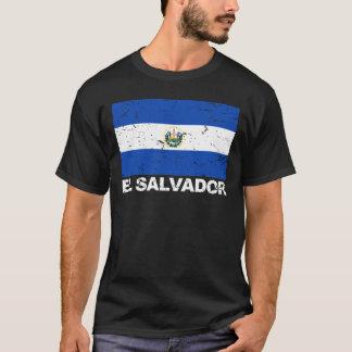 El Salvador Vintage Flag T-Shirt