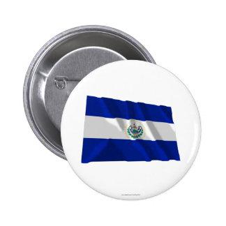 El Salvador Waving Flag Pins