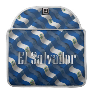 El Salvador Waving Flag Sleeves For MacBooks