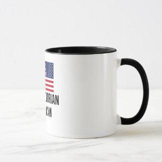El Salvadorian American Flag Mug