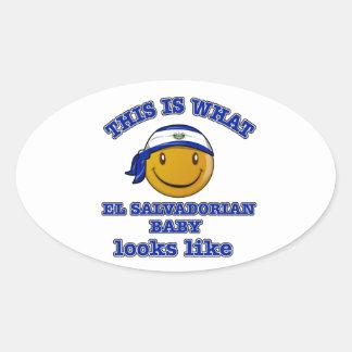 El Salvadorian baby designs Stickers