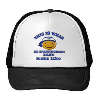 El Salvadorian baby designs Trucker Hat