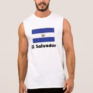 El Salvadorian Flag Sleeveless Tee