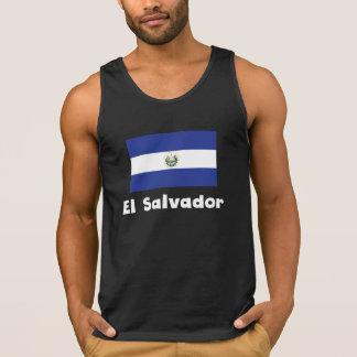 El Salvadorian Flag Tanktop