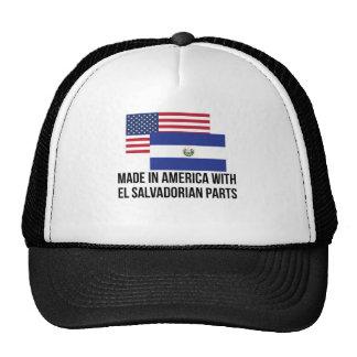 El Salvadorian Parts Trucker Hat
