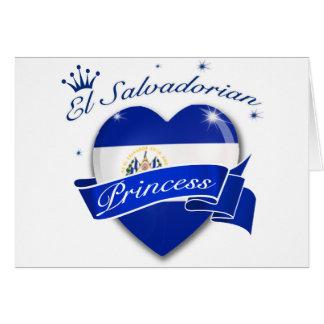 El Salvadorian Princess Card