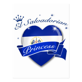 El Salvadorian Princess Postcard