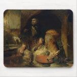 El salvaje, c.1838 alfombrilla de raton