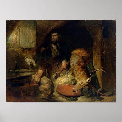 El salvaje, c.1838 posters