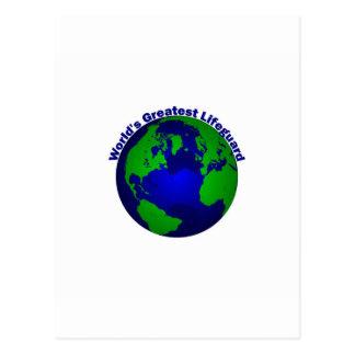 El salvavidas más grande del mundo tarjetas postales