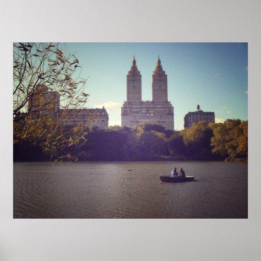 El San Remo visto de Central Park, todos los tamañ Poster