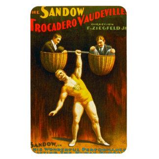 El Sandow, imán superior