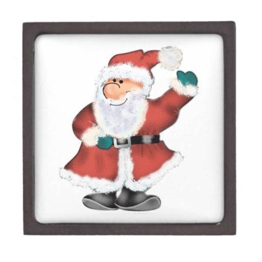 ¡El Santa más lindo nunca!  Personalizar - añada s Caja De Recuerdo De Calidad