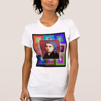 El santo Bernadette del arte pop Camiseta