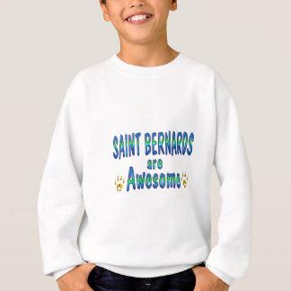 El santo Bernards es impresionante Sudadera
