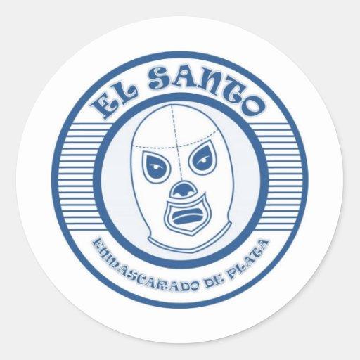 EL SANTO CLASSIC ROUND STICKER